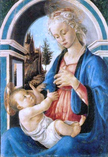 Sandro Botticelli, Madonna with child, c.1467, Musée du Petit Palais, Avignon