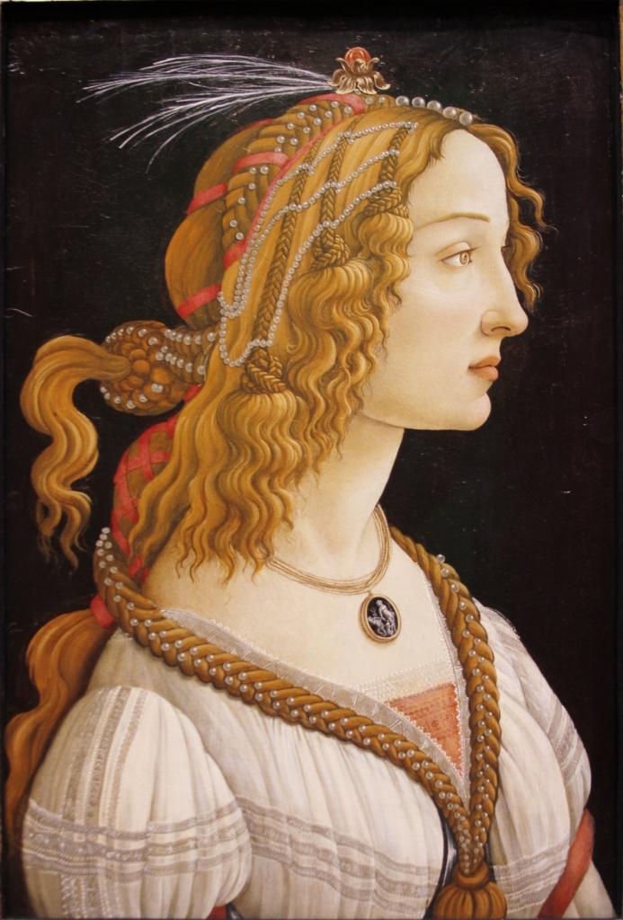 Sandro Botticelli, Portrait of a Woman, c. 1480
