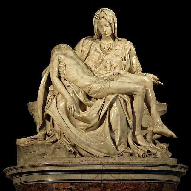 Michelangelo, Pietà, 1497-1499, St. Peter's Basilica, Vatican City