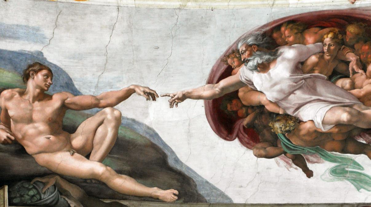 Michelangelo, The Creation of Adam