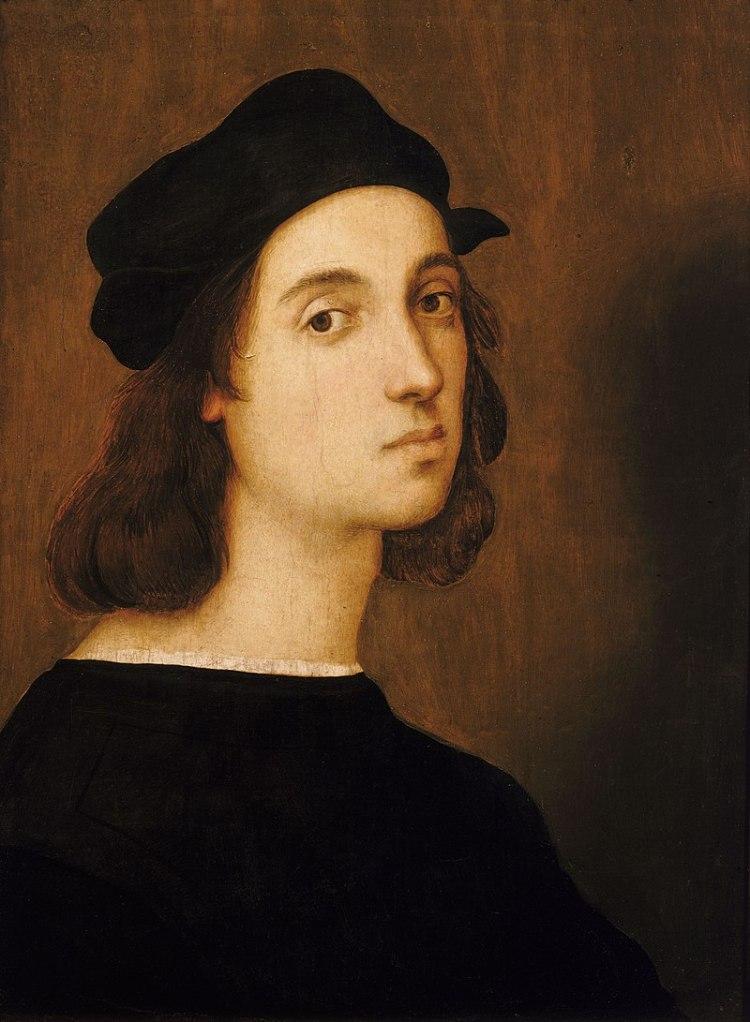 Raphael, Self-portrait, 1504–1506, Uffizi, Florence