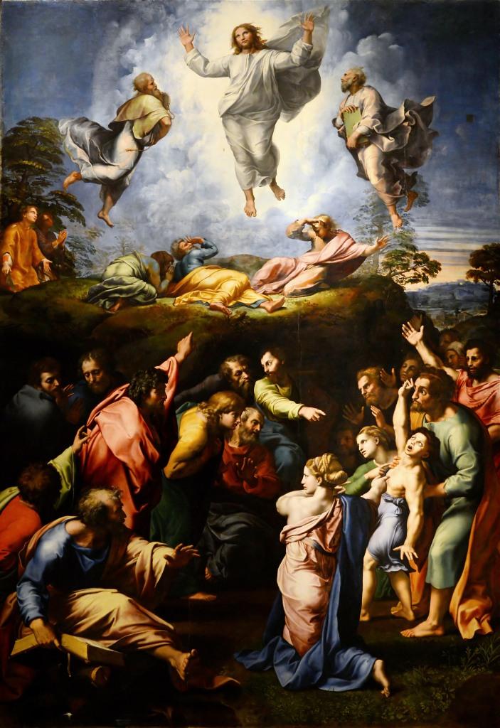 Raphael, Transfiguration, 1516–20, Pinacoteca Vaticana, Vatican City