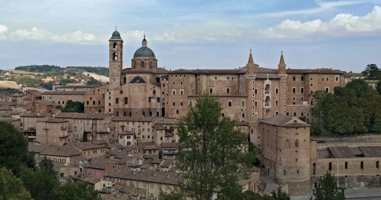 The city of Urbino