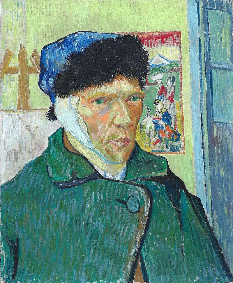 Vincent van Gogh, Self-Portrait with Bandaged Ear, Courtauld Gallery, London