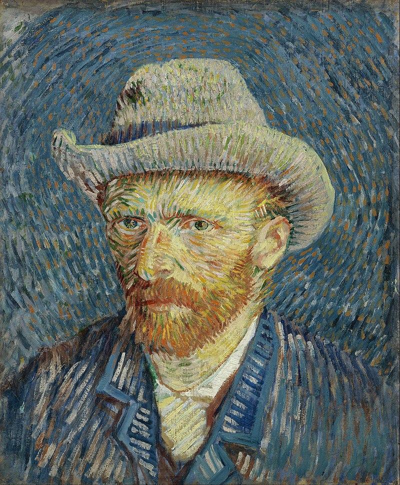 Vincent van Gogh, Self-Portrait with Grey Felt Hat, 1887-1888, Van Gogh Museum, Amsterdam