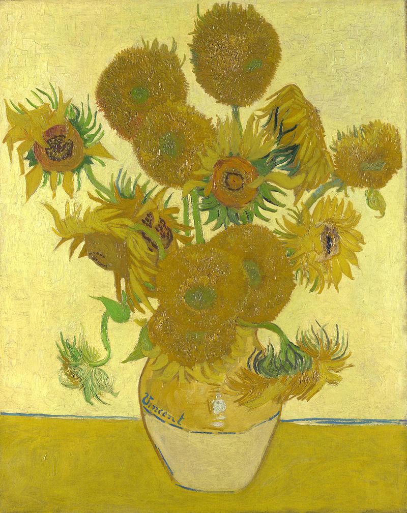 Vincent van Gogh, Sunflowers, 1888, National Gallery, London