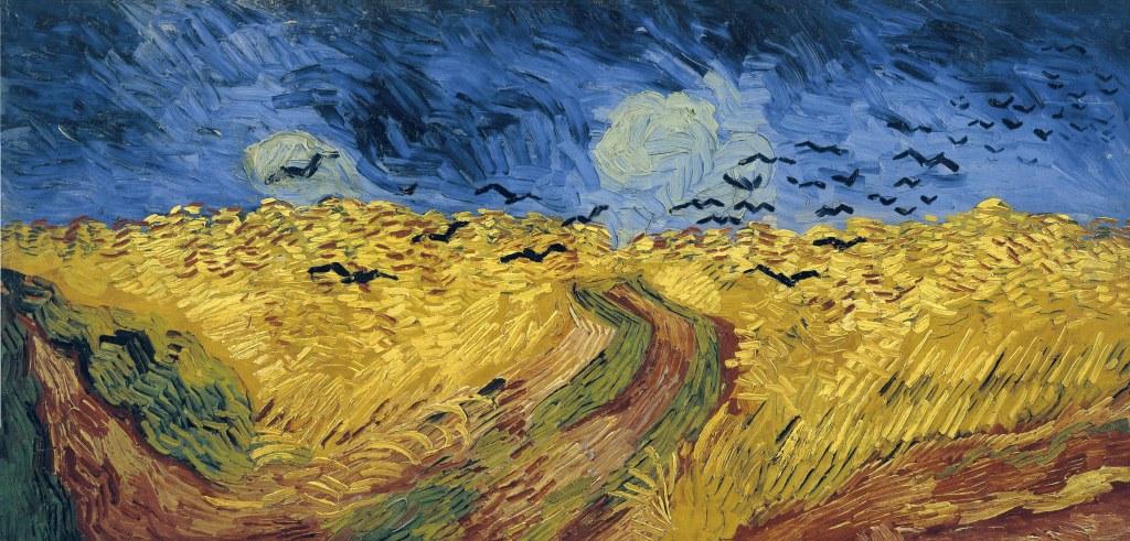 Vincent van Gogh, Wheatfield with Crows, 1890, Van Gogh Museum, Amsterdam