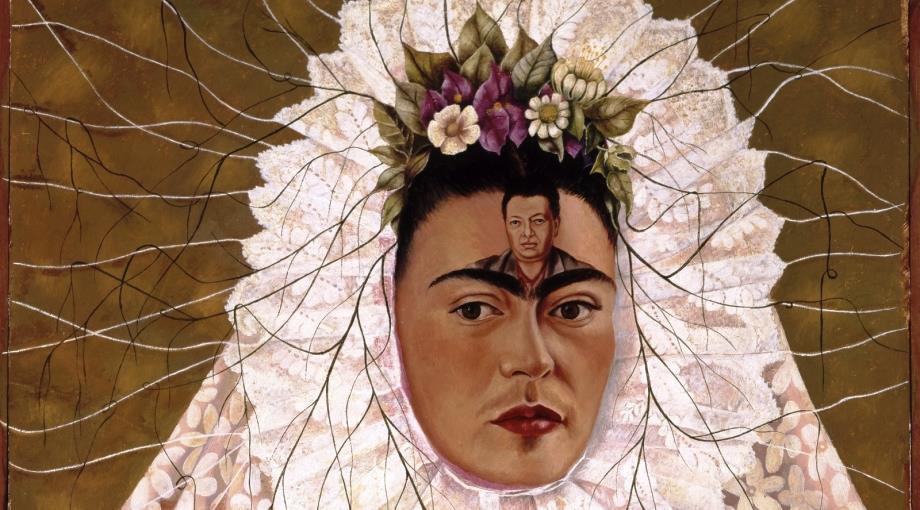 Frida Kahlo, Diego in my mind (Self-portrait as Tehuana), 1943, Mexico City