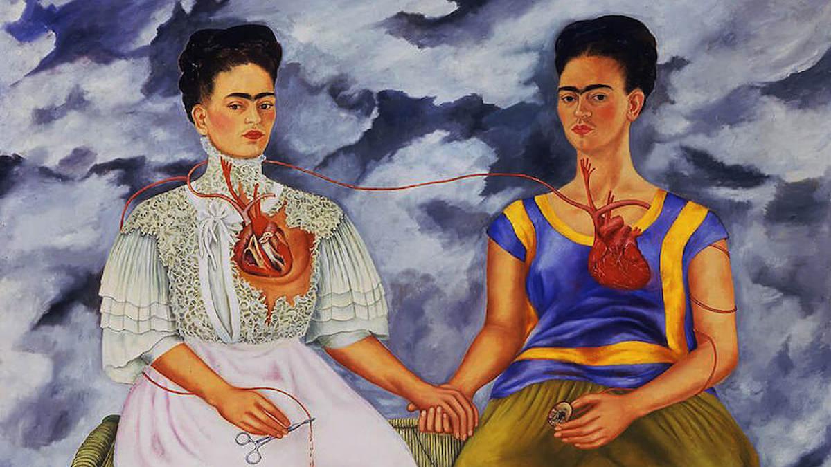 Frida Kahlo, The two Fridas
