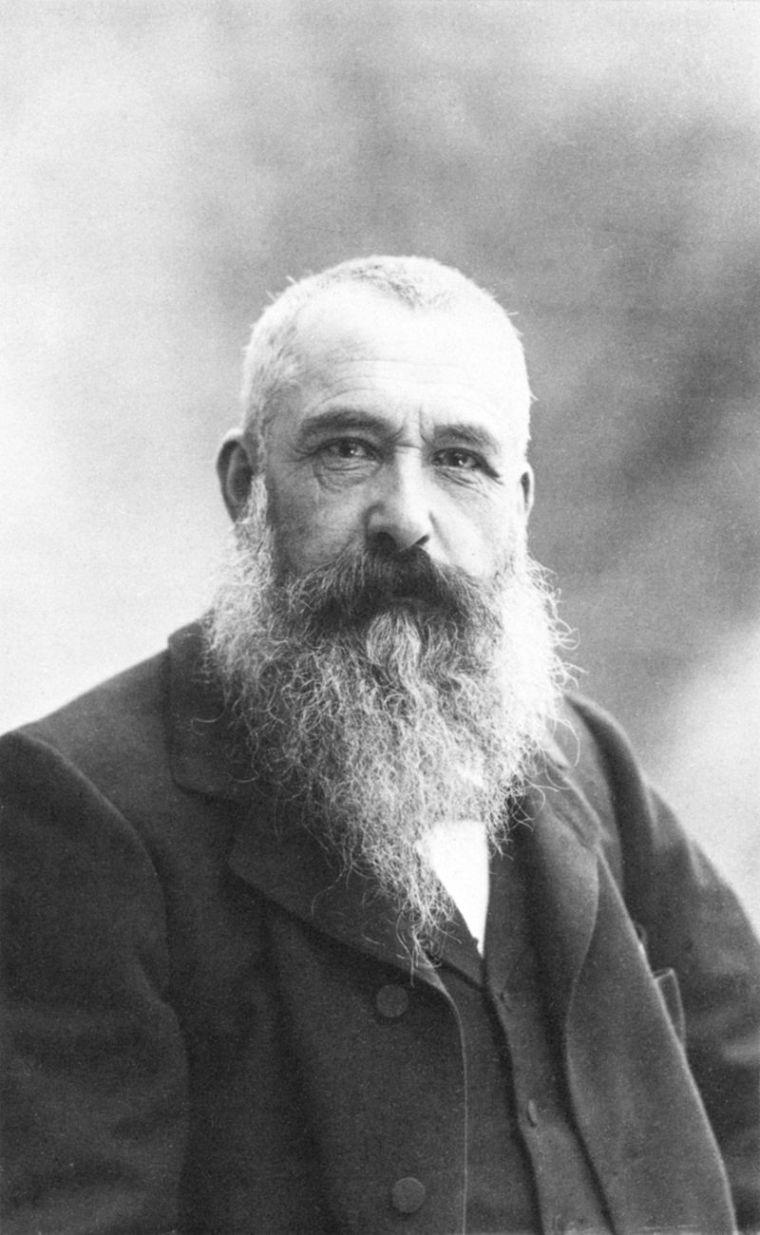 Claude Monet, photo by Nadar, c.1899